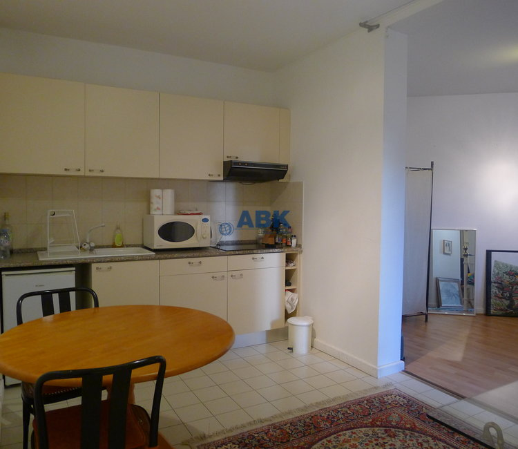 Large studio with parking space