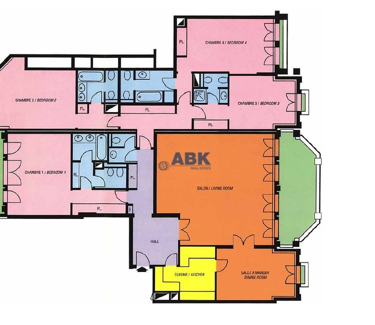 """""""CARRE D'OR"""" - SPACIOUS APARTMENT IN LUXURY RESIDENCE"""