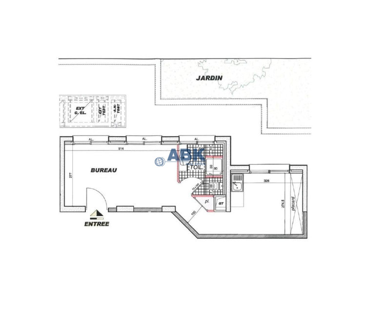 ROCAZUR - OFFICE TO  LET